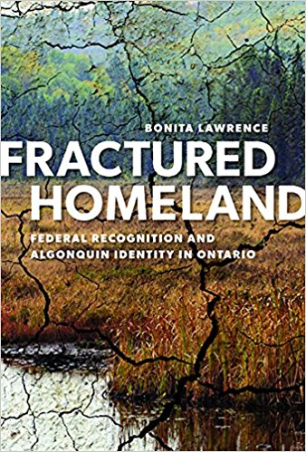 Title Page to Fractured Homeland