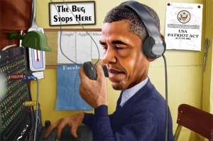 Obama - The bug stops here